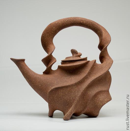 """Чайники, кофейники ручной работы. Ярмарка Мастеров - ручная работа. Купить Чайник """"Тайфун"""". Handmade. Чайник, чайник авторский"""
