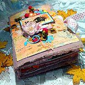 Подарки к праздникам ручной работы. Ярмарка Мастеров - ручная работа Мини-альбом на любую тематику. Handmade.