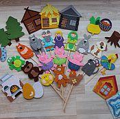 """Куклы и игрушки ручной работы. Ярмарка Мастеров - ручная работа Кукольный театр """"Маленький сказочник"""". Handmade."""