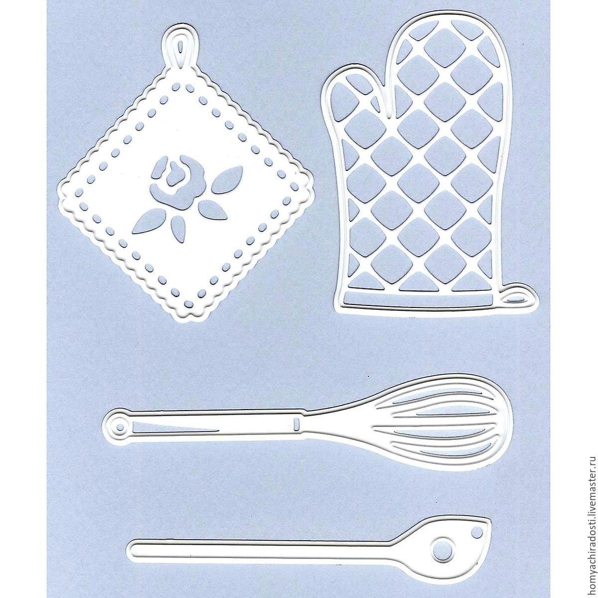 Набор ножей Marianne Design Craft Tables Kichen Set (Кухонный набор), Инструменты для скрапбукинга, Пушкин,  Фото №1