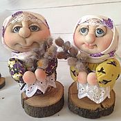 Сувениры и подарки handmade. Livemaster - original item Doll blagopoluchnye. Handmade.