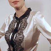 """Одежда ручной работы. Ярмарка Мастеров - ручная работа Блуза """"Инь"""". Handmade."""