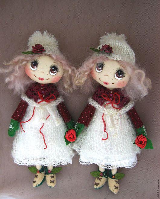 Коллекционные куклы ручной работы. Ярмарка Мастеров - ручная работа. Купить Ожидание. Handmade. Комбинированный, рождество, рождественский подарок, рождественский
