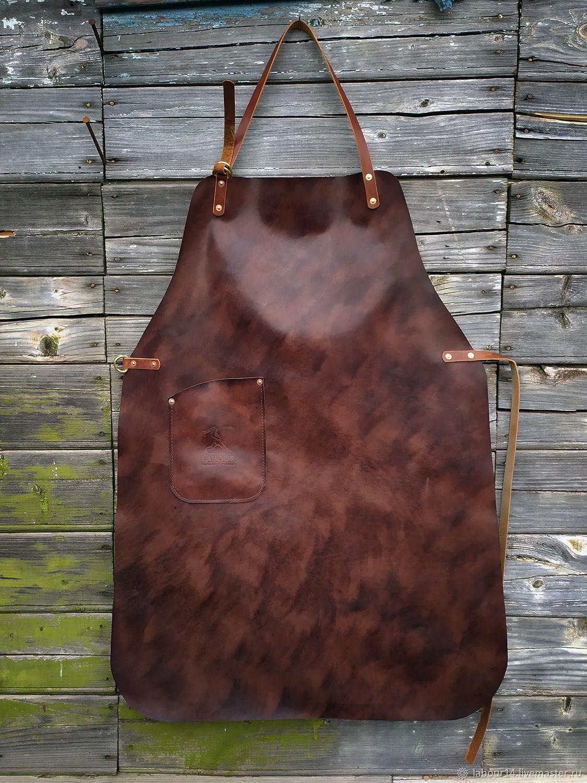 Leather apron, mod.One, Classic Bag, Sevsk,  Фото №1