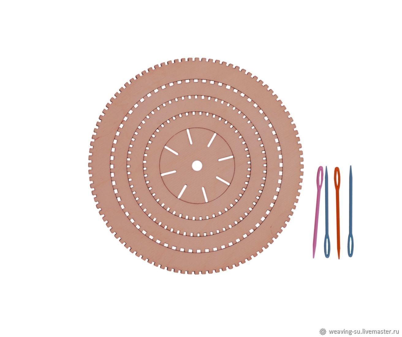 Набор круглых ткацких рамок, Инструменты, Рыбинск,  Фото №1