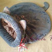 Лежанки ручной работы. Ярмарка Мастеров - ручная работа Машинная вышивка на изделии, текст любой, по вашему выбору. Handmade.