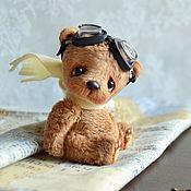 Мягкие игрушки ручной работы. Ярмарка Мастеров - ручная работа Алёшка (6 см). Handmade.