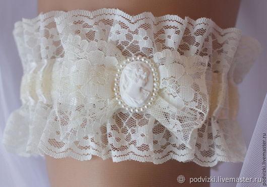 c571e2a41 Clothing   Accessories handmade. Livemaster - handmade. Buy Garter for wedding  bride Retro.