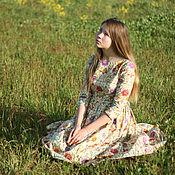 Одежда ручной работы. Ярмарка Мастеров - ручная работа Платье Majolica (lilac). Handmade.