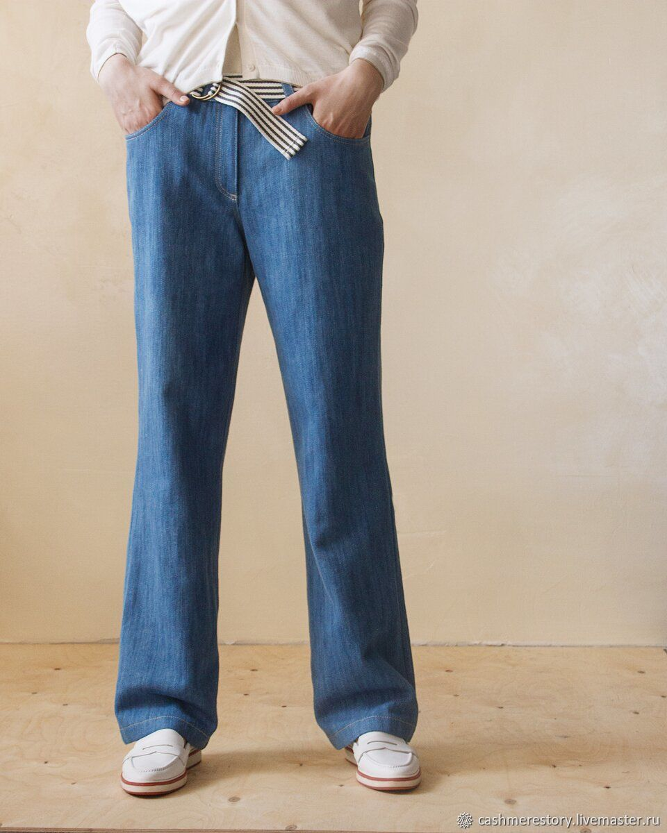 Women's straight cut jeans, Jeans, Moscow,  Фото №1