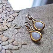 Украшения handmade. Livemaster - original item Earrings with crystals