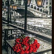 Картины и панно handmade. Livemaster - original item Picture. A bouquet of roses .. Handmade.