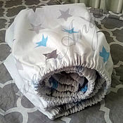 Для дома и интерьера ручной работы. Ярмарка Мастеров - ручная работа Простынь на резинке 60/120. Handmade.