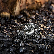 Украшения handmade. Livemaster - original item Claddagh ring silver 925. Handmade.