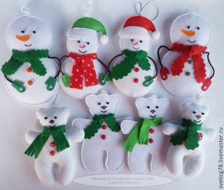 Новогодние игрушки своими руками к 2017 году