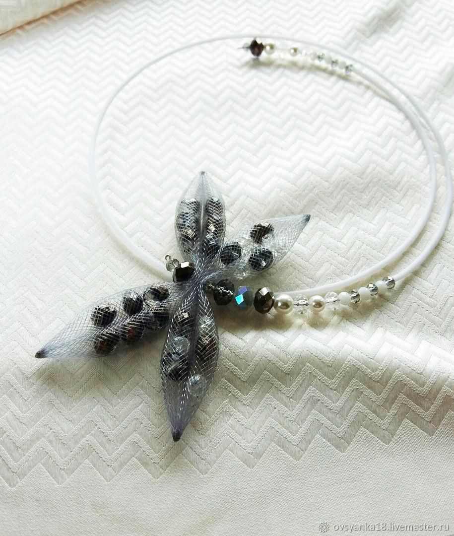 Choker necklace White night, Chokers, Voronezh,  Фото №1
