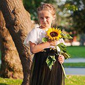 Работы для детей, ручной работы. Ярмарка Мастеров - ручная работа Фатиновая юбка для девочки. Handmade.