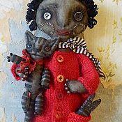 Куклы и игрушки ручной работы. Ярмарка Мастеров - ручная работа Текстильная ароматизированная примитивная кукла Сипси. Handmade.