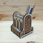 Канцелярские товары handmade. Livemaster - original item Organizer. Stand for pens, pencils. Stationery set. Handmade.