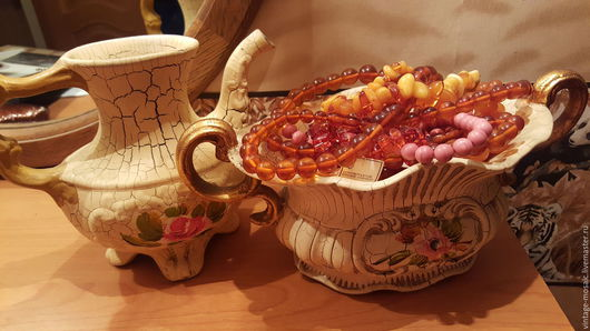 Винтажная посуда. Ярмарка Мастеров - ручная работа. Купить Bassano конфетница и кувшинчик Италия винтаж. Handmade. Бежевый, итальянский стиль