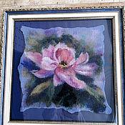 Картины и панно handmade. Livemaster - original item Pictures: Woolen watercolor