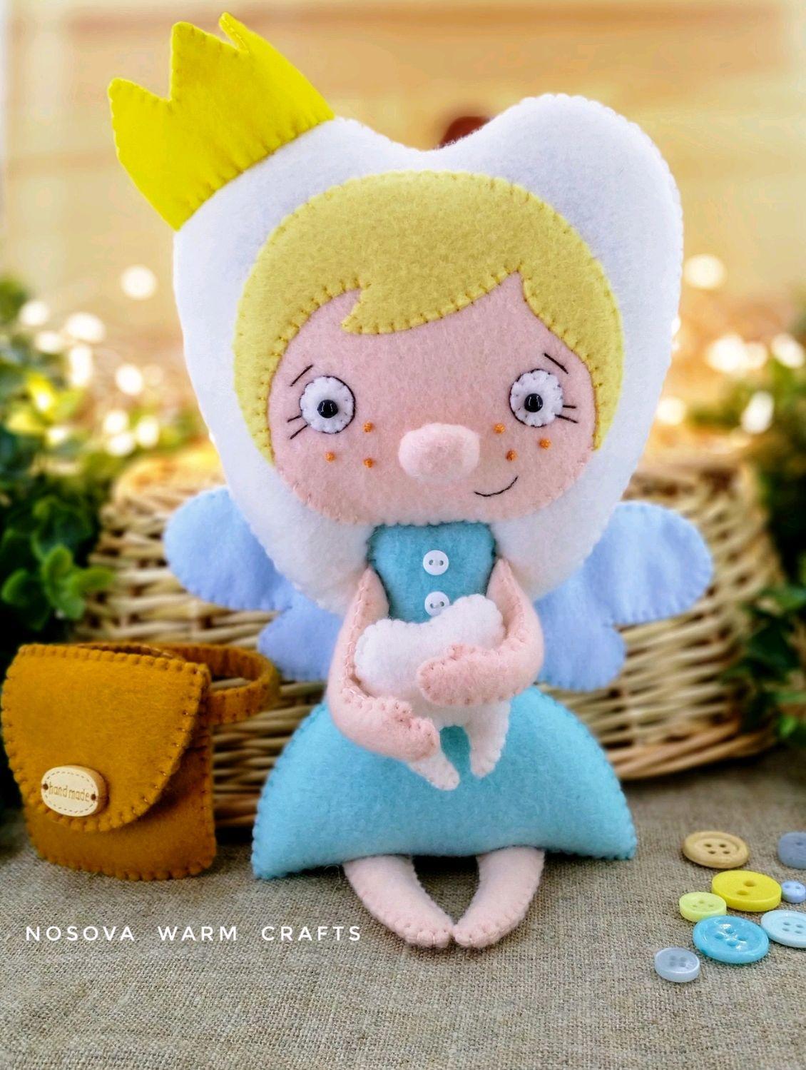 Зубная фея - кукла в подарок, Мягкие игрушки, Москва,  Фото №1