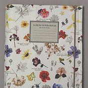 Канцелярские товары handmade. Livemaster - original item Album for Botanical herbarium (A4, 40 plants). Handmade.