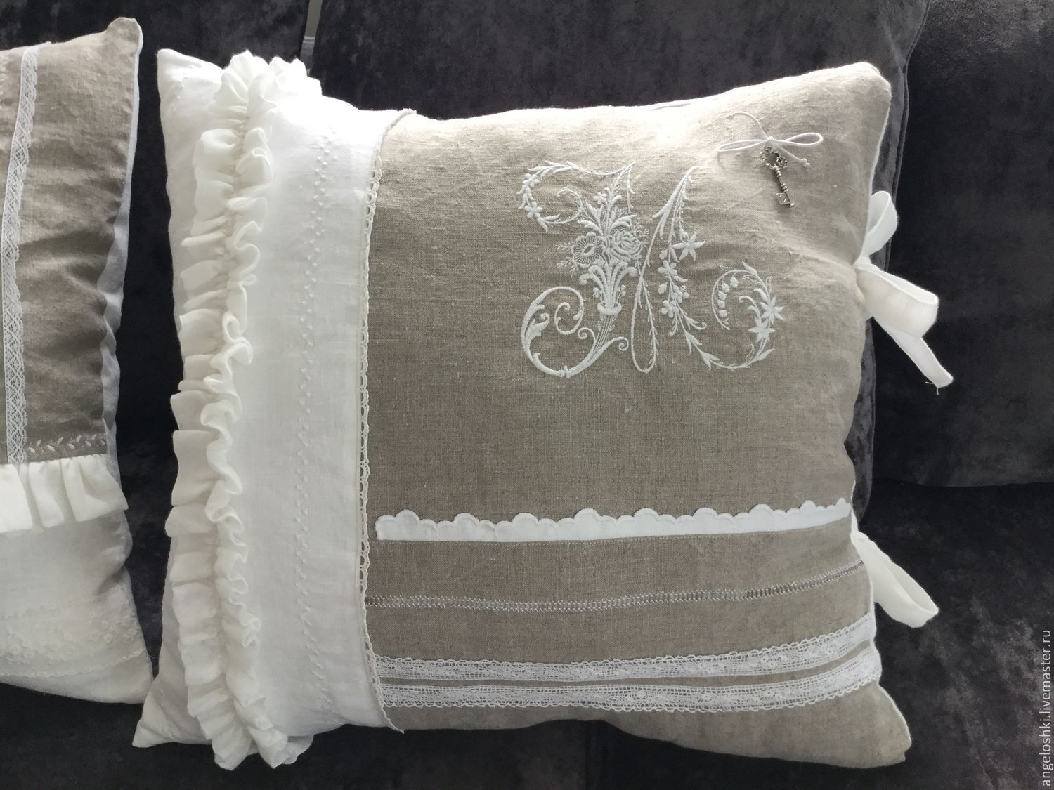 Cushion in the style of Provence, Pillow, Moscow,  Фото №1