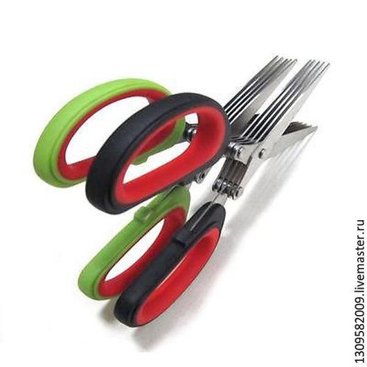 Другие виды рукоделия ручной работы. Ярмарка Мастеров - ручная работа. Купить Ножницы с пятью лезвиями. Handmade. Ножницы, металл