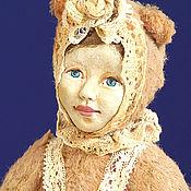 Куклы и игрушки ручной работы. Ярмарка Мастеров - ручная работа Тедди долл Маняша (16 см). Handmade.