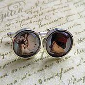 Украшения handmade. Livemaster - original item cufflinks are silver plated the duke and duchess (large). Handmade.