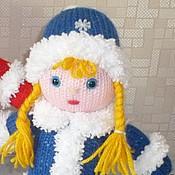 Куклы и игрушки ручной работы. Ярмарка Мастеров - ручная работа Снегурочка, вязаные игрушки. Handmade.