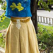 Одежда ручной работы. Ярмарка Мастеров - ручная работа Юбка на подкладке. Handmade.