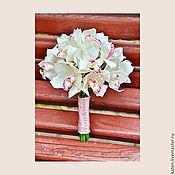 """Цветы и флористика ручной работы. Ярмарка Мастеров - ручная работа Букет невесты """"Kate"""". Handmade."""