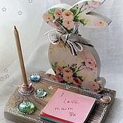 Канцелярские товары handmade. Livemaster - original item Interior stand - organizer for the children`s
