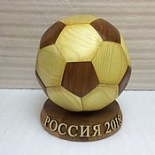 Подарки к праздникам handmade. Livemaster - original item Soccer ball. Handmade.