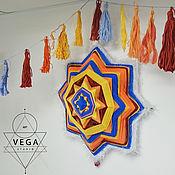 Для дома и интерьера ручной работы. Ярмарка Мастеров - ручная работа Оранжевая звезда. Handmade.