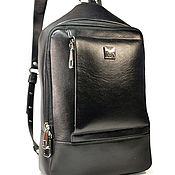 Сумки и аксессуары handmade. Livemaster - original item Leather backpack PLOMO. Handmade.