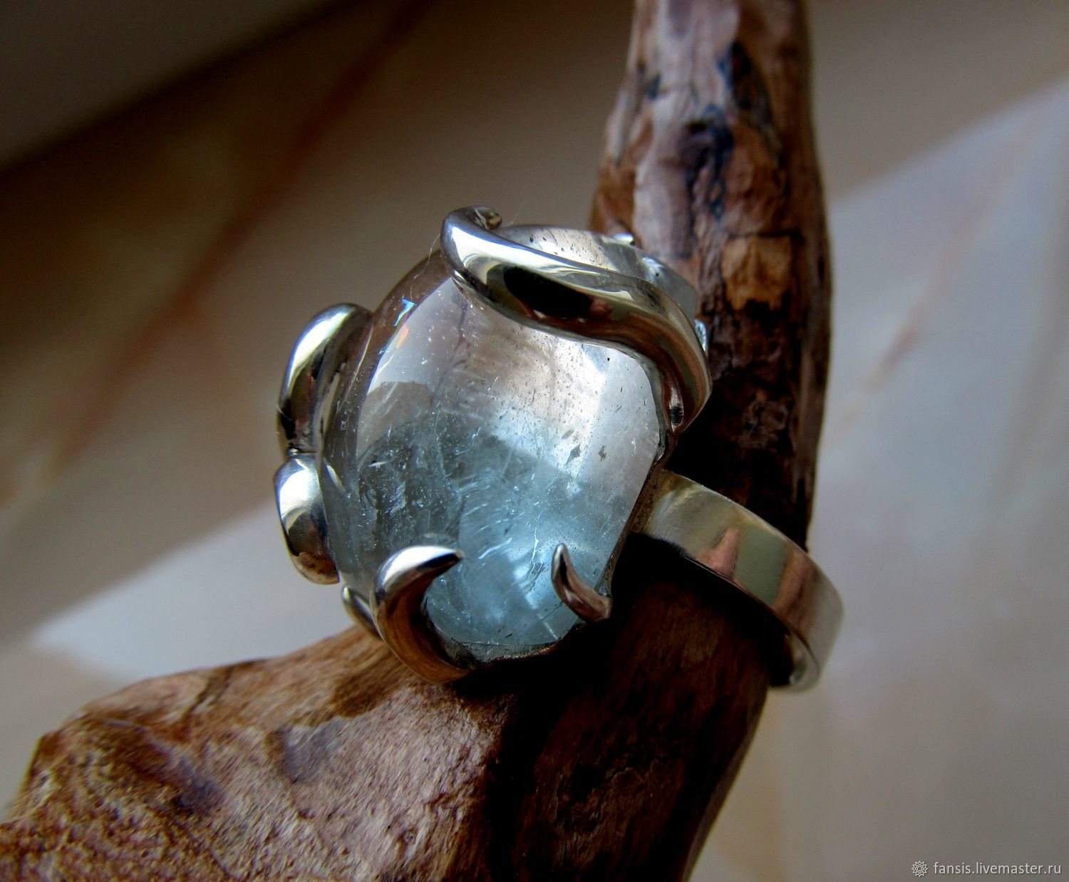Ring with Topaz, Rings, Odessa,  Фото №1
