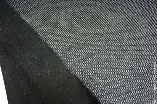 Шитье ручной работы. Ярмарка Мастеров - ручная работа. Купить Лоден тонкий шерстяной черно-белый PRT 1091611 Италия Цена за метр. Handmade.