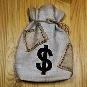 """Сувениры и подарки ручной работы. Ярмарка Мастеров - ручная работа Подарочный мешок """"Пиратская Кубышка"""". Handmade."""