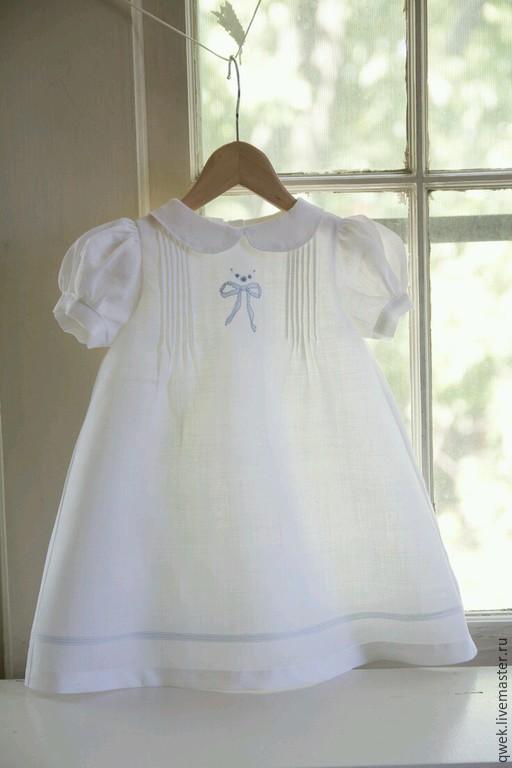 Крестильные принадлежности ручной работы. Ярмарка Мастеров - ручная работа. Купить Крестильное платье. Handmade. Белый, крестильный набор