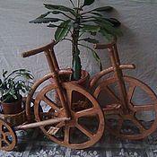 """Для дома и интерьера ручной работы. Ярмарка Мастеров - ручная работа Цветник """"Велосипед"""". Handmade."""