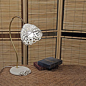 Для дома и интерьера handmade. Livemaster - original item Table lamp Cream Azhur. Handmade.