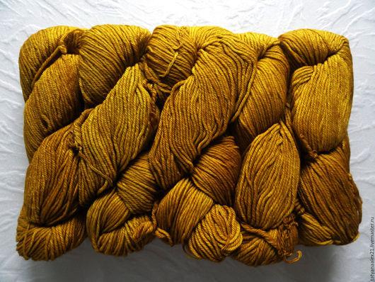 Вязание ручной работы. Ярмарка Мастеров - ручная работа. Купить Пряжа Malabrigo Rios 035 Frank Ochre. Handmade.