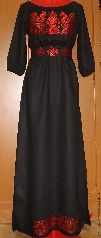 Women's dress Slavic 'Container' ЖП4-105, Dresses, Temryuk,  Фото №1
