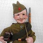 """Куклы и игрушки ручной работы. Ярмарка Мастеров - ручная работа Кукла """"Солдат"""". Handmade."""