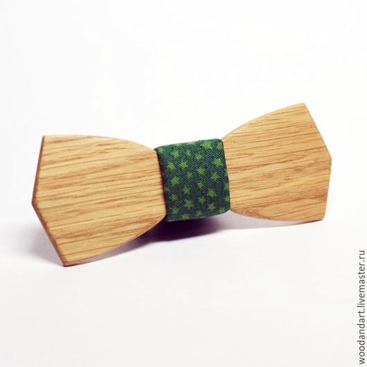 Галстуки, бабочки ручной работы. Ярмарка Мастеров - ручная работа. Купить Детская деревянная галстук бабочка. Handmade. Болотный