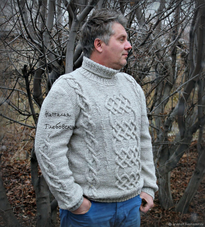 Men's sweater 'Nord', Mens sweaters, Orenburg,  Фото №1