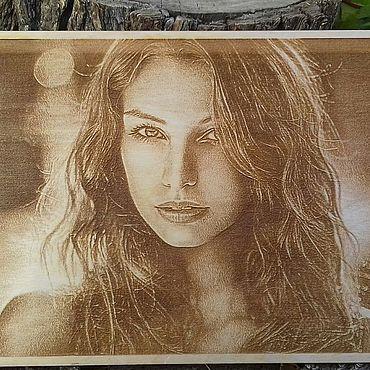 Картины и панно ручной работы. Ярмарка Мастеров - ручная работа Фотокартины: ваше фото на дереве. Handmade.